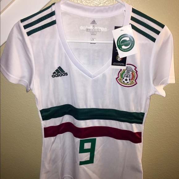 2bdbdfbae66 adidas Tops | 2018 Fifa World Cup Womens Mexico Jersey | Poshmark
